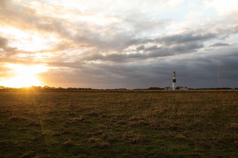 Leuchtturm Sylt Sonnenuntergang