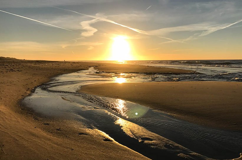 Weststrand Sylt Sonnenuntergang