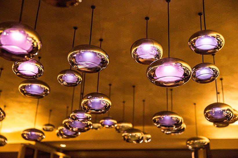 Bar Beleuchtung im Nikkei Nine