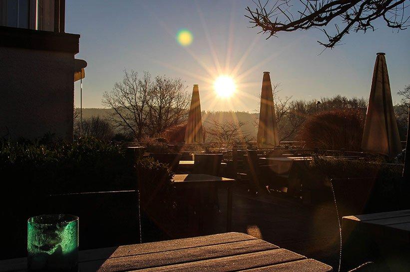 Morgensonne Seegarten Hotel Sorpesee