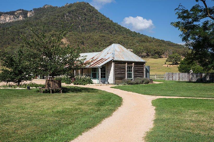 Siedlerhuette Wolgan Valley