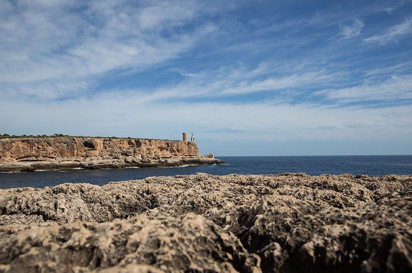 Mallorca im Frühjahr Cala Figuera Leuchtturm