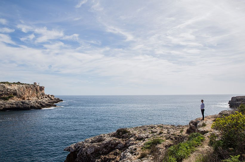 Mallorca im Frühjahr Cala Figuera