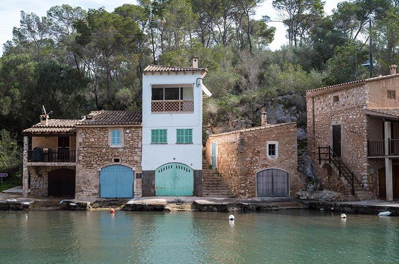 Häuser Cala Figuera