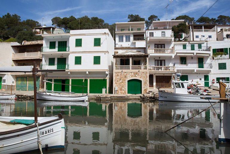Spiegelungen fotografieren Cala Figuera Mallorca