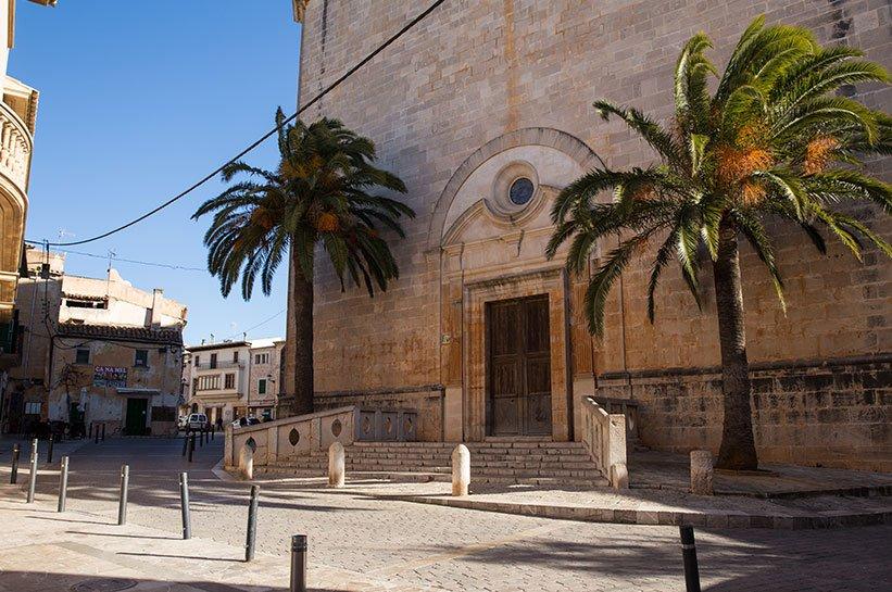 Kirche Santanyi Mallorca