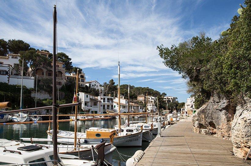 Cala Figuera Weg Hafen