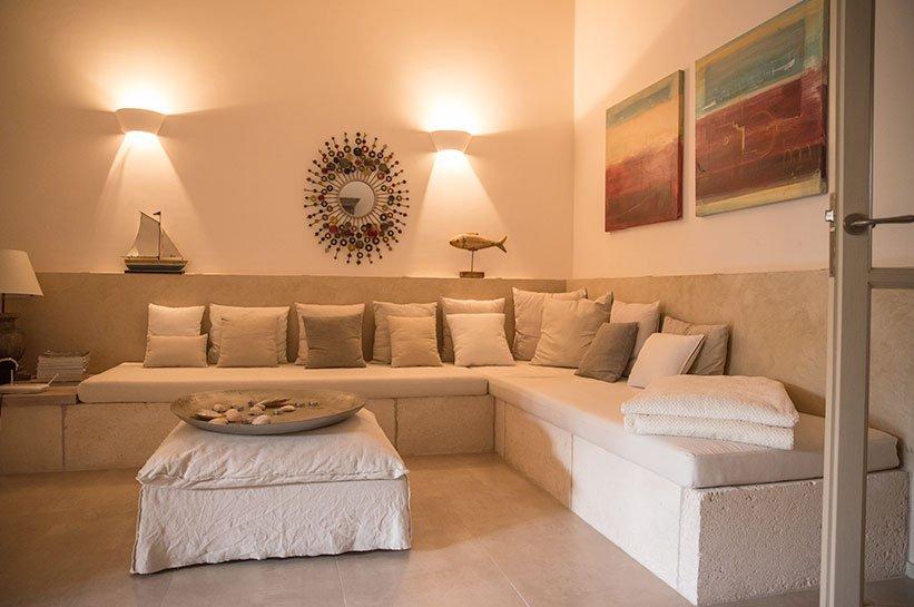 Sitzecke Living Houses Luxus Ferienhaus