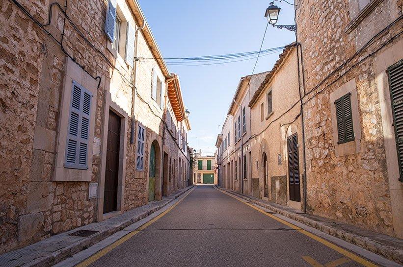 Santanyi Mallorca Stadtbild