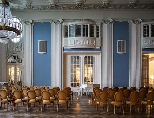 Ein Ballsaal an der Ostsee