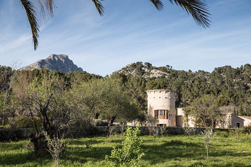 Wasserturm Castell Son Claret