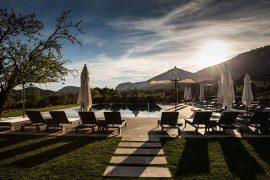 Pool Castell Son Claret Luxushotel Mallorca