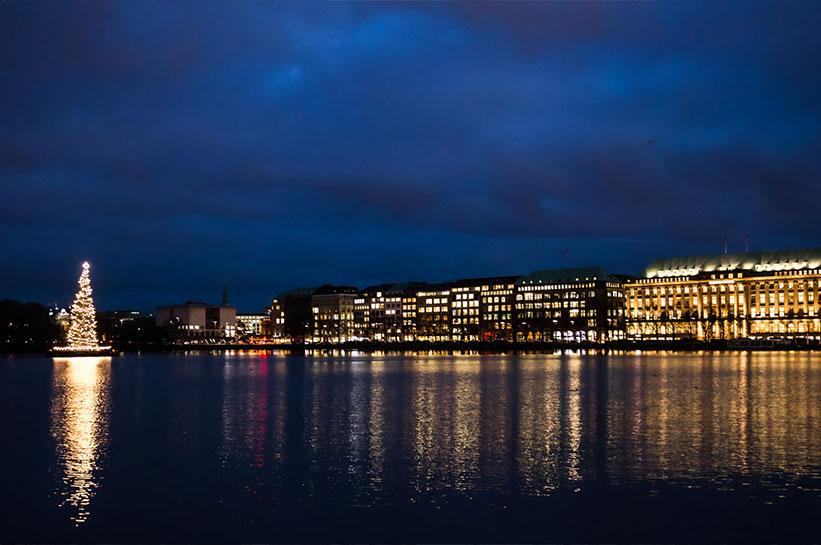 Hamburg Tipp: Weihnachtsmarkt am Jungfernstieg