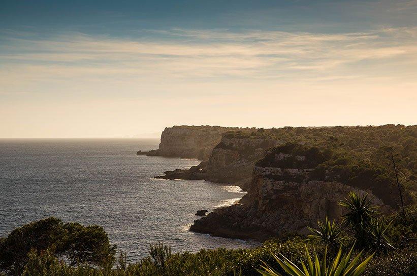 Bucht Sonnenuntergang Mallorca