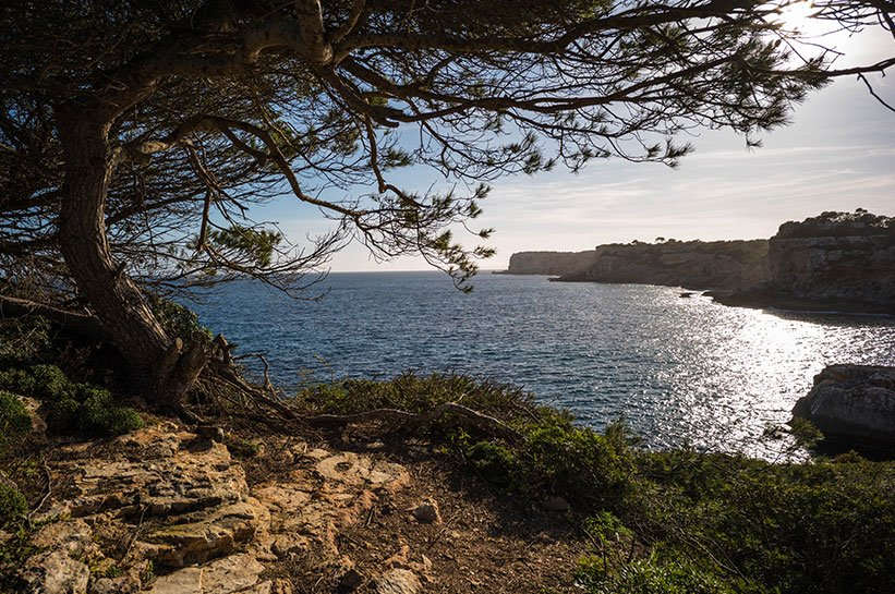 Versteckte Bucht auf Mallorca Cala s Almunia und Calo des Moro
