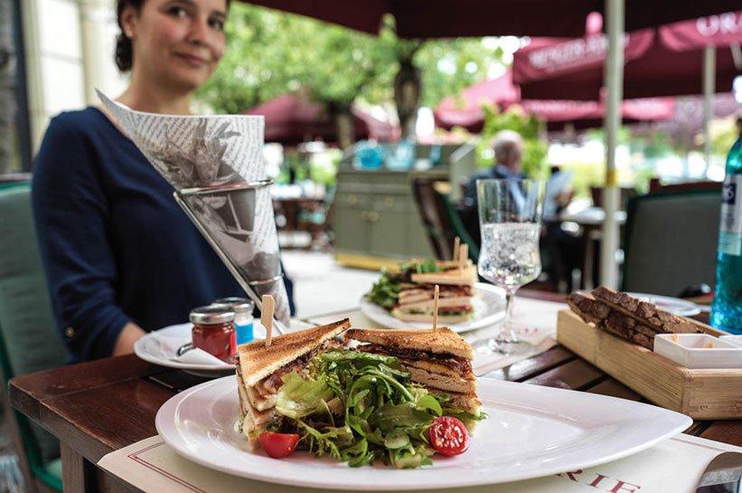 Nassauer Hof Orangerie Club Sandwich