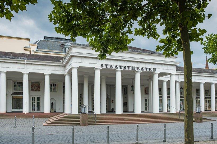 Das Staatstheater am Nassauer Hof