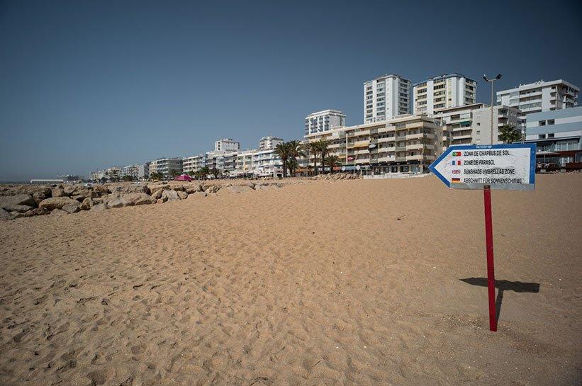 Algarve im Herbst Quarteira