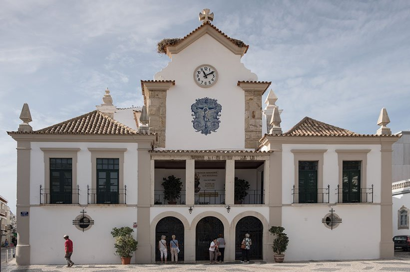 Kirche in Olhao