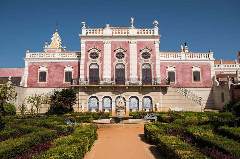 Kleines Luxushotel an der Algarve