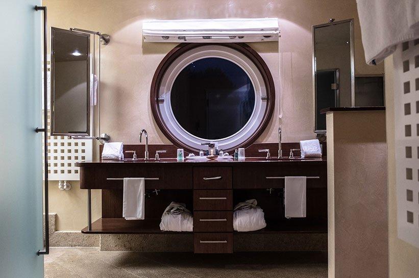 Badezimmer Luxushotel Fährhaus Sylt