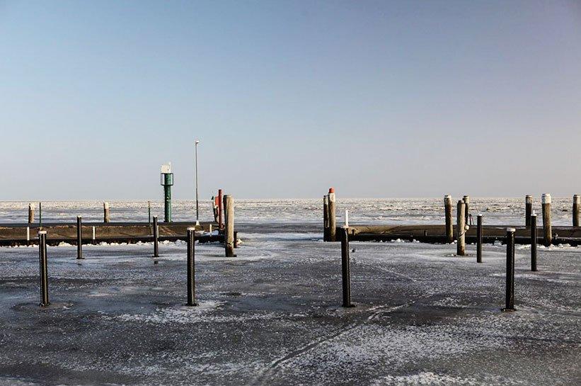 Silvester auf Sylt in Munkmarsch am Hafen