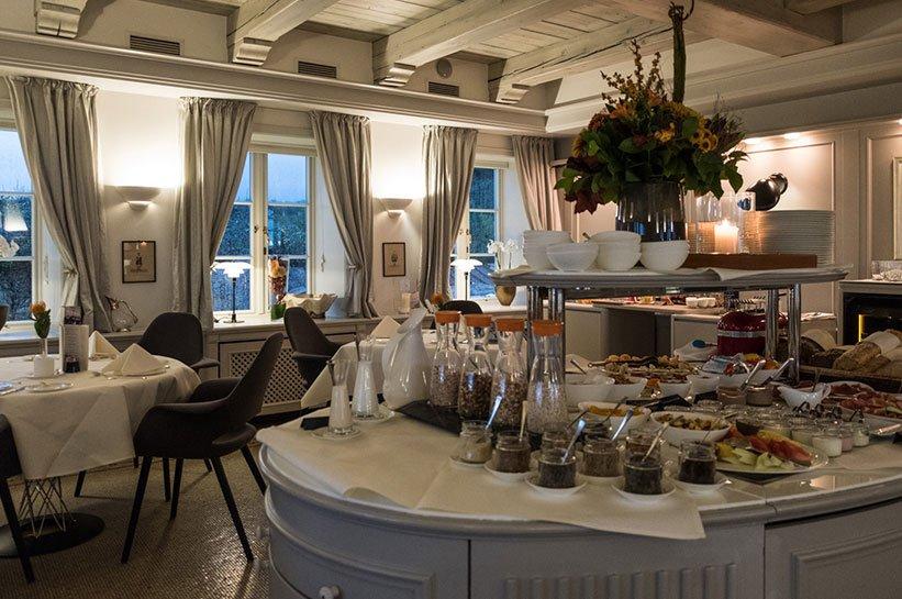Frühstück auf Sylt Luxushotel