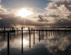 Romantische Wochenende auf Sylt mit Sonnenuntergang am Hafen