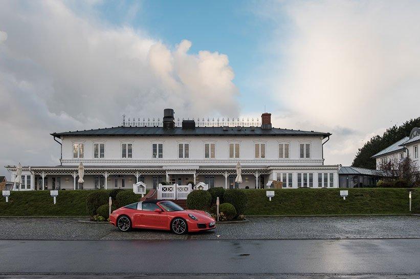 Porsche auf Sylt Fährhaus