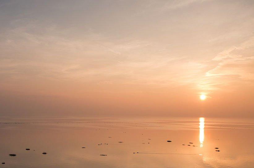 Romantisches Wochenende auf Sylt Sonnenuntergang