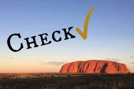 Checkliste Australien Einreise