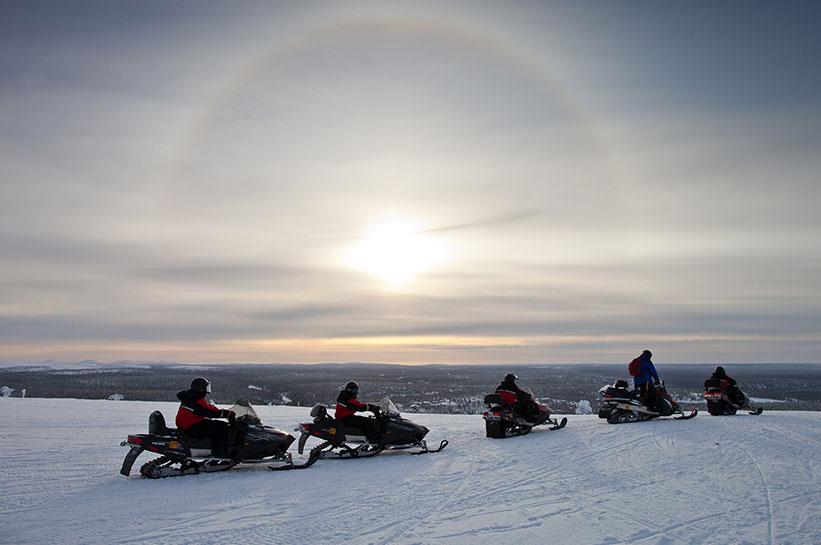 Lapland Safari Schneemobil Tour