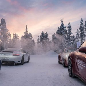 Porsche Camp 4 in Finnland