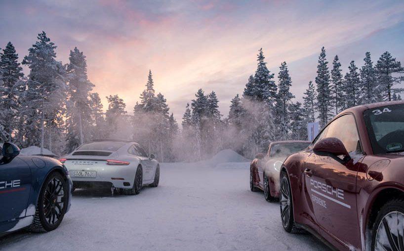 Porsche Camp 4 Trainingsgelände Finnland