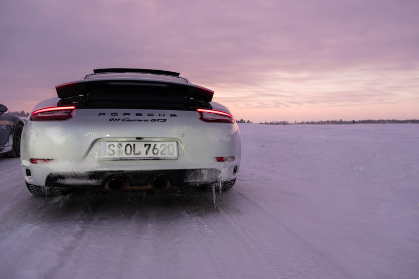 Porsche Sunset Lapland