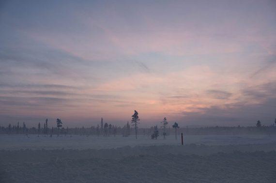 Traumhaftes Licht in Finnland.
