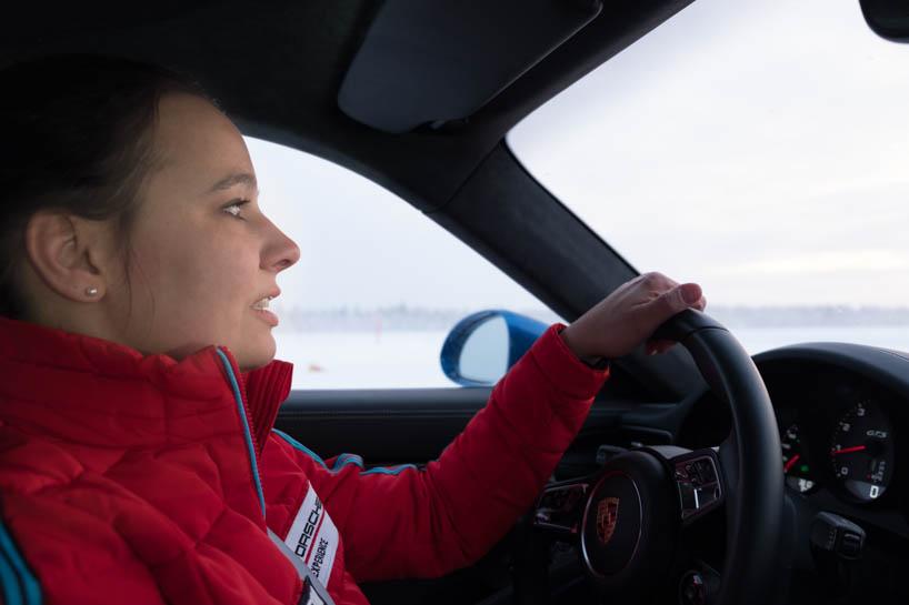 Fratuschi fährt Porsche