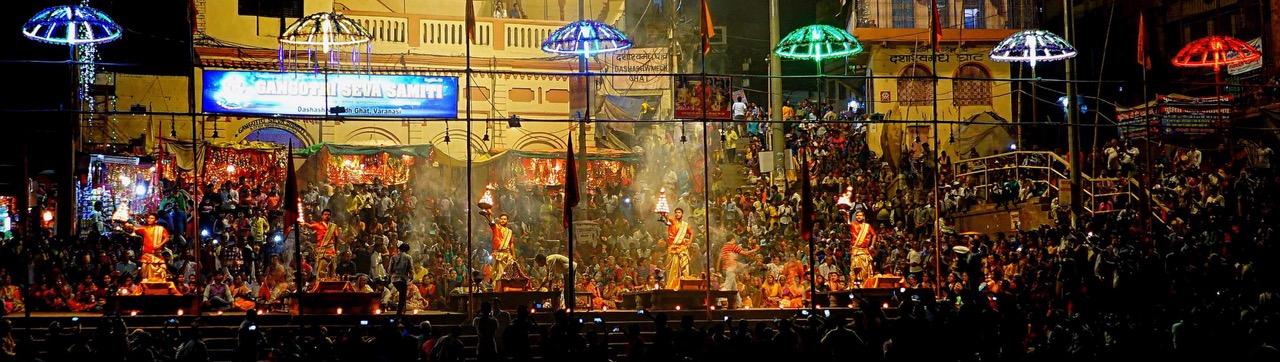 Varanasi Tipp Ganga Aarti