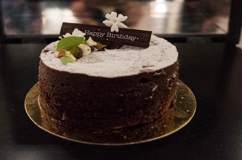 Geburtstag feiern in Amsterdam - Torte