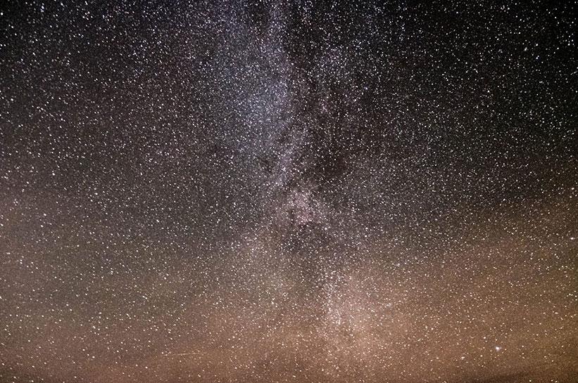 Sternenhimmel Sylt