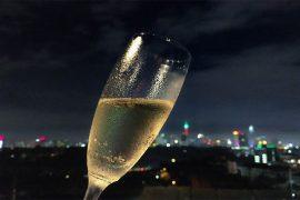 Kuala Lumpur in 24 Stunden - Skyline bei Nacht