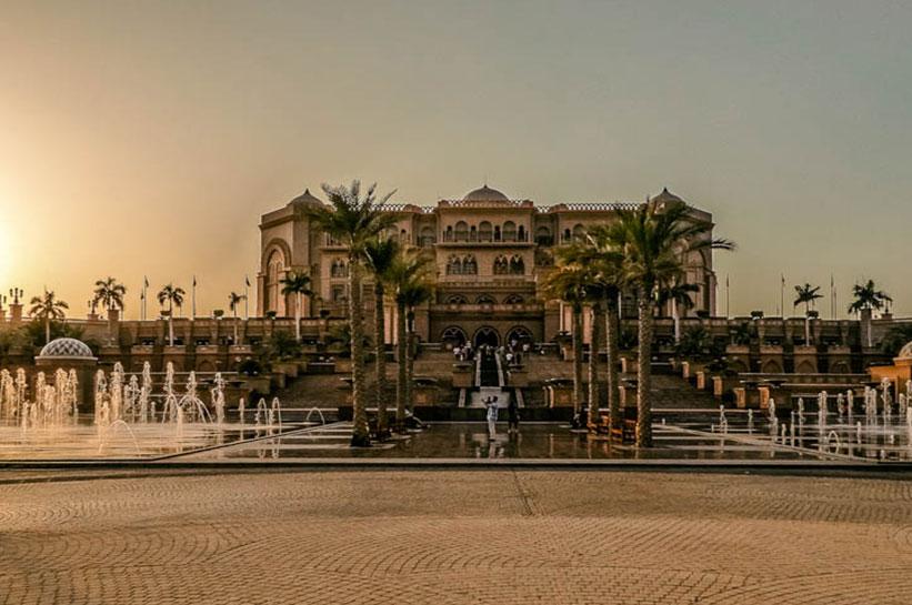 Abu Dhabi Emirates Palace Erfahrung
