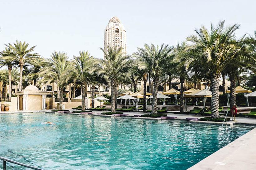 Pool Royal Mirage Hotel Dubai