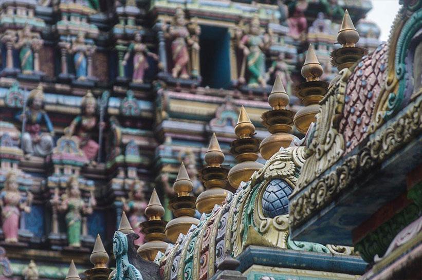 Ein Tag in Kuala Lumpur - Tempel