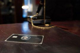 American Express Centurion Karte im Hotel American Express Centurion Card