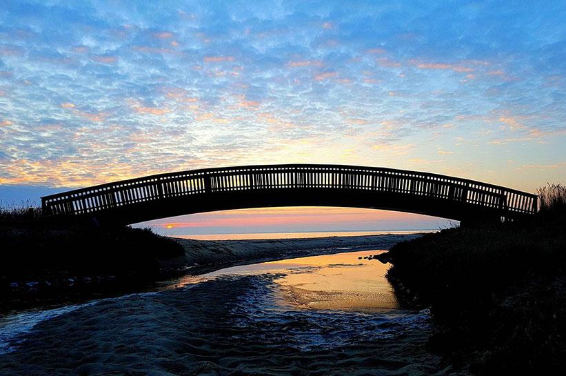 Sehenswürdigkeit Lügenbrücke Sylt von A Quasebarth