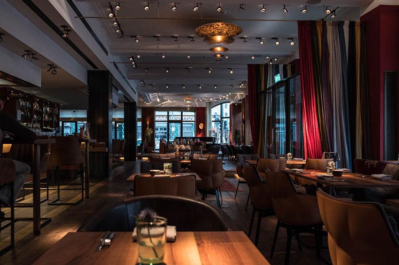 Orania Berlin Kreuzberg Restaurant und Frühstücksraum