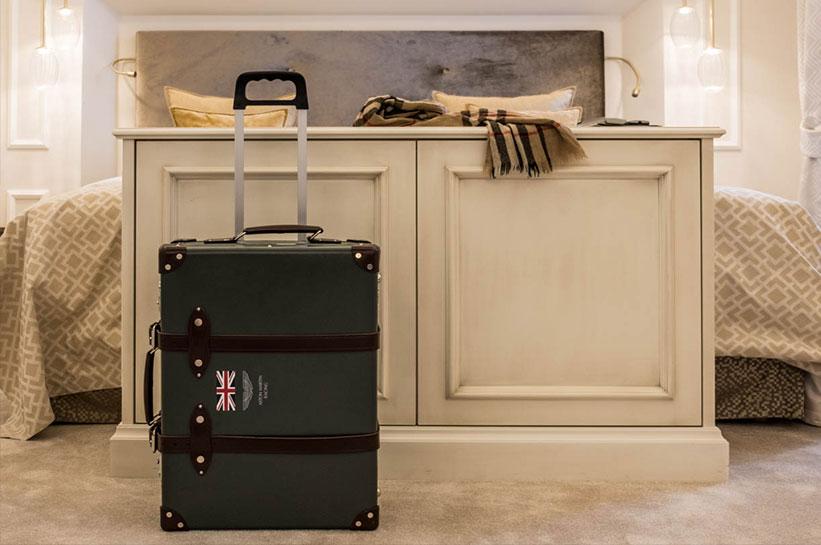 Gepäck-Koffer im Luxushotel