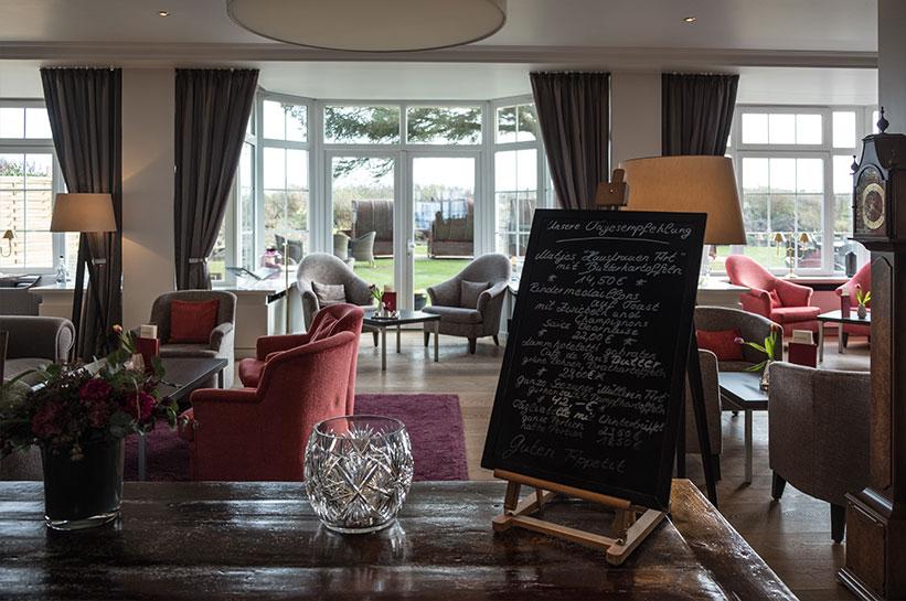 Speisekarte Hotel Rungholt Kampen/Sylt