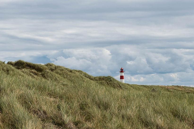 Leuchtturm List auf Sylt Sehenswürdigkeit